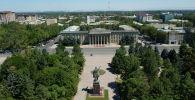 Вид на здание правительства Кыргызстана. Архивное фото