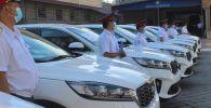 Служба по борьбе с незаконным оборотом наркотиков (СБНОН) МВД получила оборудование и десять внедорожников
