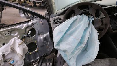 Поврежденный в ДТП автомобиль. Иллюстративное фото