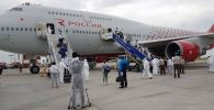 Россиядан Бишкекке 554 кыргызстандык учуп келди