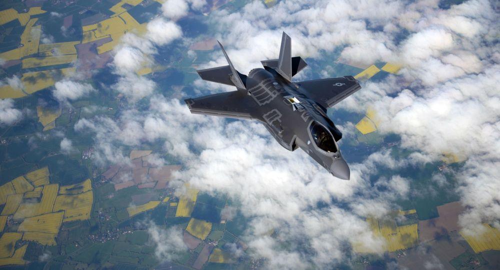 Самолет F-35 Lightning II. Архивное фото