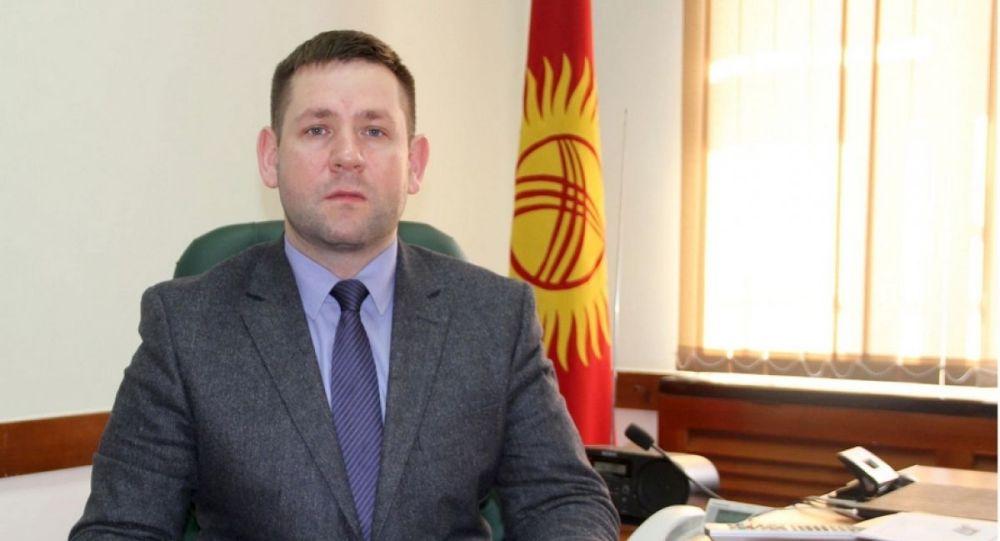 Глава Службы по борьбе с незаконным оборотом наркотиков МВД Кыргызстана Олег Запольский. Архивное фото