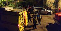 Бишкек шаарынын Абдрахманов көчөсүндө жайгашкан көп кабаттуу үйдөн чыккан өрт