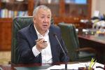 Премьер-министр Кубатбек Боронов. Архивдик сүрөт