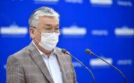Архивное фото министра здравоохранения КР Сабиржана Абдикаримова