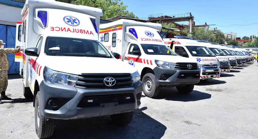 Центр экстренной медицинской помощи пополнился 15 каретами скорой медицинской помощи
