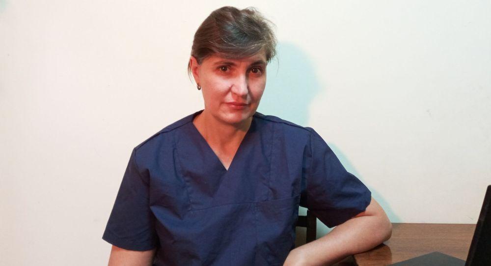 Главный внештатный эндокринолог Министерства здравоохранения КР Наталья Добрынина