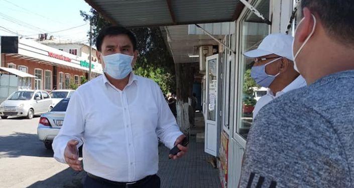 Таалайбек Сарыбашов провел осмотр микрорайона Манас-Ата города Ош