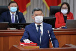 Биринчи вице-премьери Алмазбек Баатырбеков