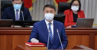 Министр чрезвычайных ситуаций Замирбек Аскаров. Архивное фото