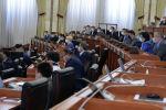 Заседании Жогорку Кенеша. Архивное фото