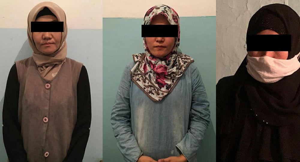 """Нарын облусунда тыюу салынган """"Хизбут-Тахрир"""" диний-экстремисттик уюмунун аялдар канатынын алты мүчөсү кармалды"""