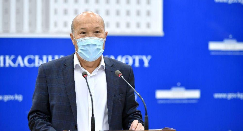 Саламаттык сактоо министринин орун басары Мадамин Каратаев