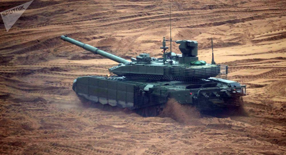 Российский танк Т-90МС Тагил. Архивное фото