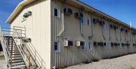 Американын мурдагы Ганси авиабазасынын аймагында бейтаптарды кабыл алуу үчүн орундар уюштурулду