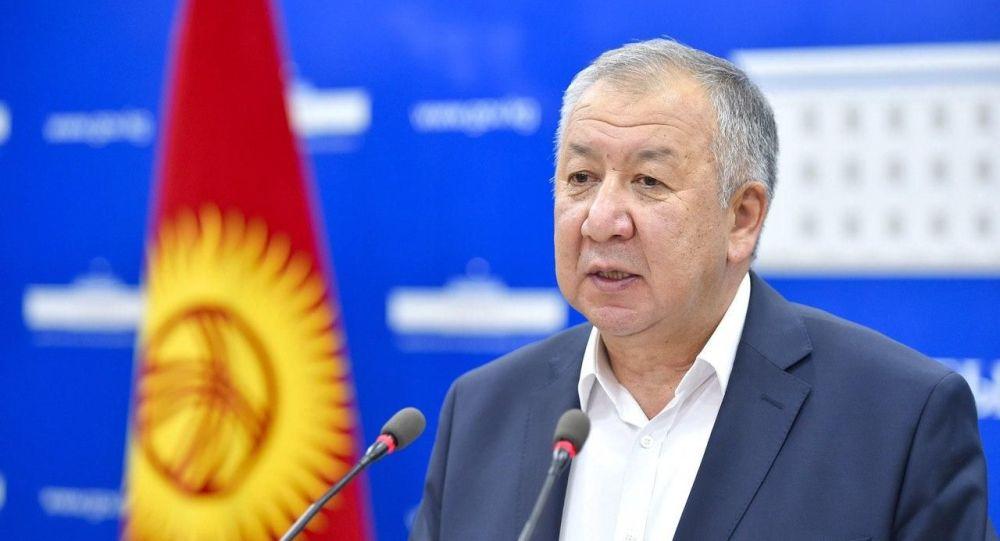 Премьер-министр Кубатбек Боронов брифинг учрунда
