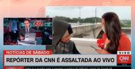 Ведущую телеканала CNN в Бразилии Бруну Маседо ограбили, когда она в прямом эфире рассказывала о проливных дождях в Сан-Паулу.