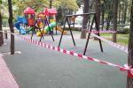 Закрытие парков, скверов и детских площадок в Бишкеке