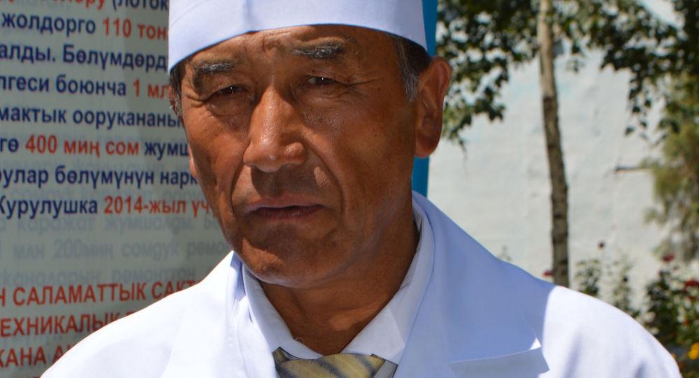 Директор Ноокатской территориальной больницы Асамидин Марипов. Архивное фото