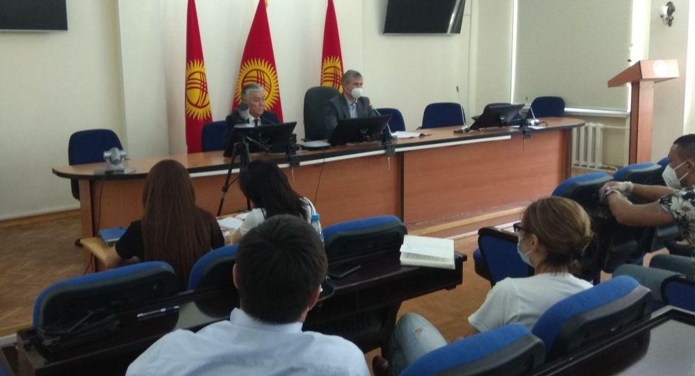 Вице-премьер Акрам Мадумаров фармацевтикалык компания өкүлдөрү менен жолугушту