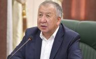 Премьер-министр Кубатбек Боронов на заседании Республиканского штаба по борьбе с коронавирусом