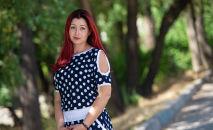 Кыргызстанский волонтер Марьяна Володина
