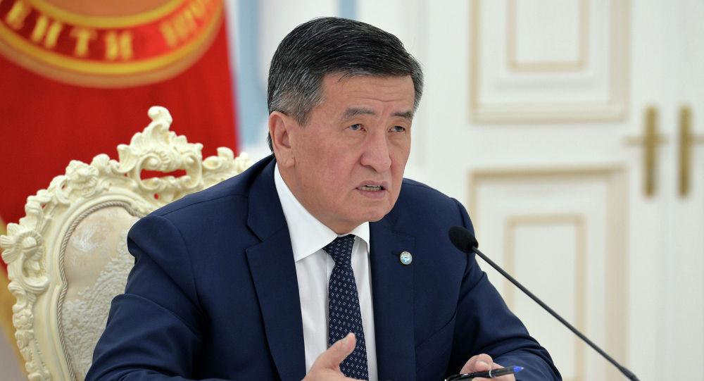 Экс-президент Кыргызской Республики Сооронбай Жээнбеков. Архивное фото
