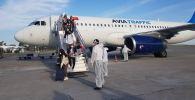 Бүгүн Бишкекке Белоруссиядан 182 кыргызстандык алып келинди
