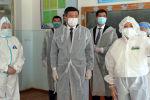 Мамлекет башчы Сооронбай Жээнбеков Бишкектеги күндүзгү стационарга барды