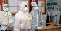 Медики одного из дневных стационаров в Бишкеке. Архивное фото