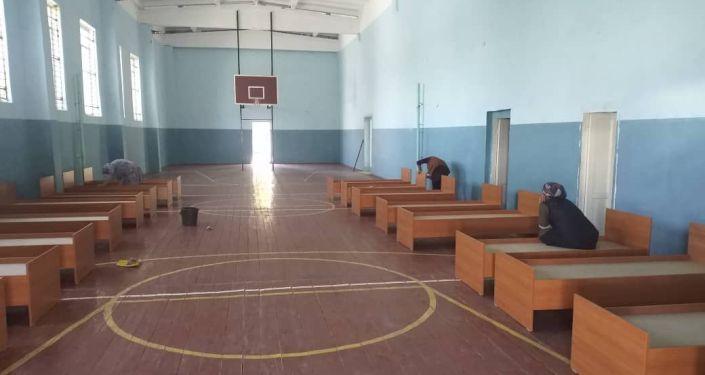 В Ошской области готовят 1200 мест в дневной стационар согласно распоряжению министра по чрезвычайным ситуациям Замирбека Аскарова