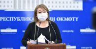 Коомдук саламаттык сактоо башкармалыгынын башчысы Айнура Акматова