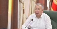 Премьер-министр Кыргызской Республики Кубатбек Боронов. Архивное фото