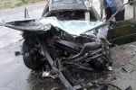 Балыкчы шаарына жакын жерде жол кырсыгы катталып, үч адам каза болду
